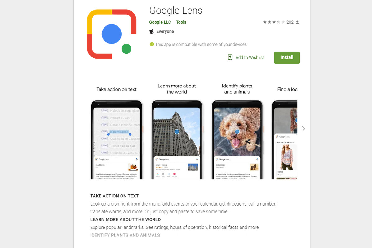 Google Lens is now available as a standalone app - The Verge