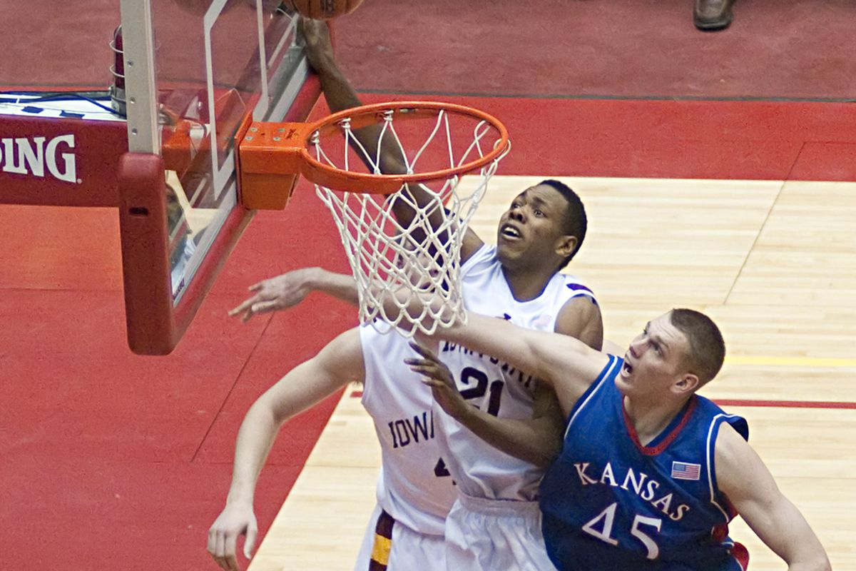 <strong>Craig Brackins (No. 21) of Iowa State and Cole Aldrich (No. 45) of Kansas were both named pre-season All Americans by FoxSports.com college basketball writer Jeff Goodman.</strong>