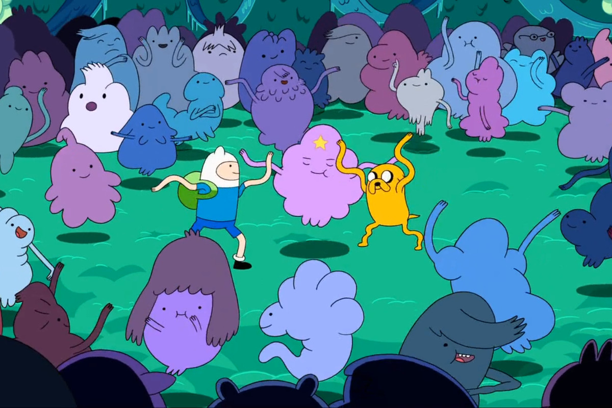 Need advice? Give this Adventure Time character a call right
