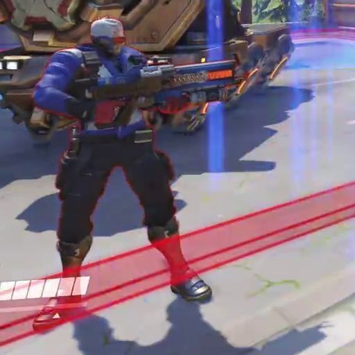 Overwatch - Soldier:76 new weapon close-up