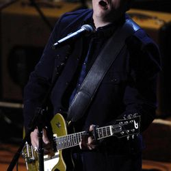"""Jason Isbell performs Song of the Year """"Alabama Pines"""" at the 11th annual Americana Honors & Awards, Wednesday Sept. 12, 2012, in Nashville, Tenn."""