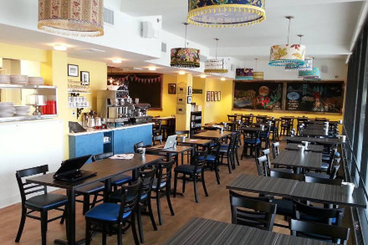 Sabrina's new Wynnewood location looks just about ready.