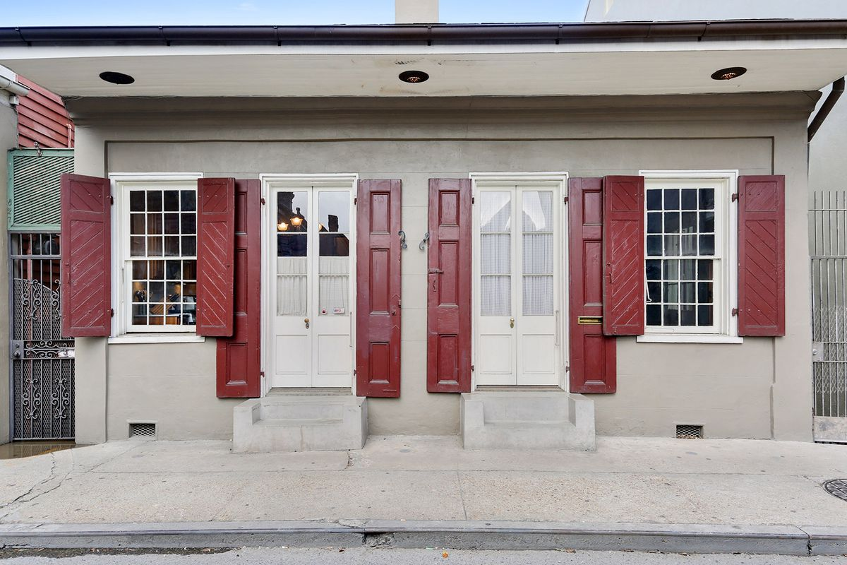 Restored French Quarter Cottage Hits The Market At 895k Curbed