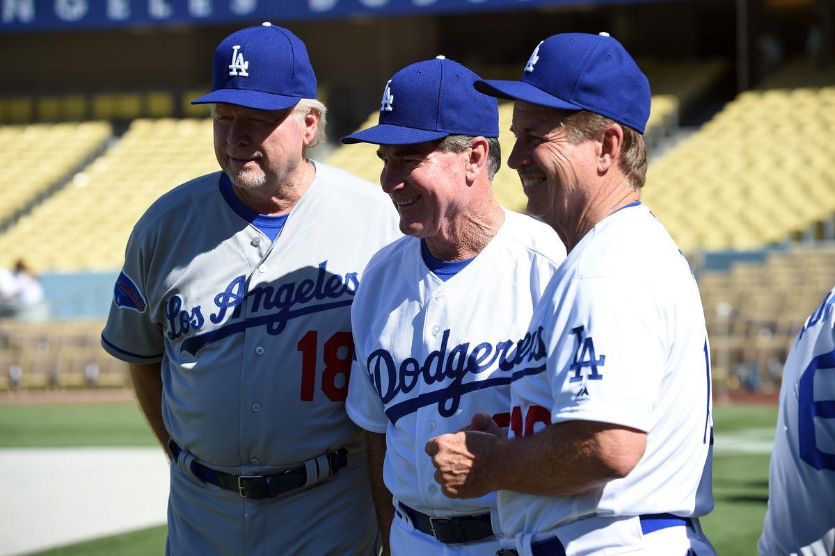 MLB: JUL 02 Dodgers Old-Timers Game
