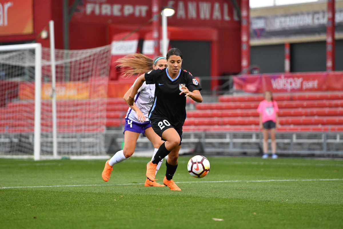 6a273ced8ec4 Playing Through The Pain  North Carolina Courage vs Chicago Red Stars