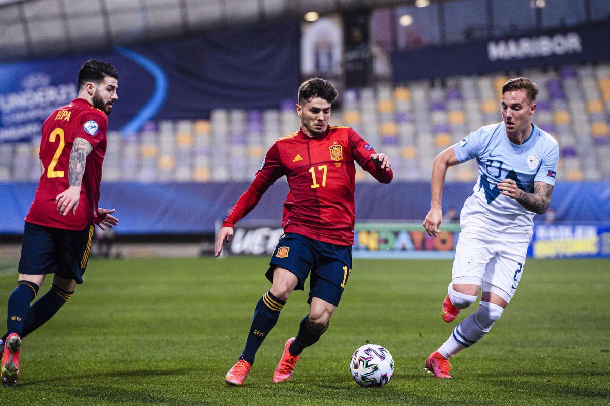 Slovenia v Spain - 2021 UEFA European Under-21 Championship