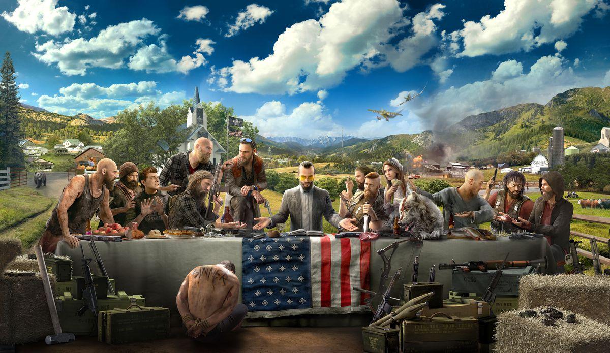 Far Cry 5 'Last Supper' artwork