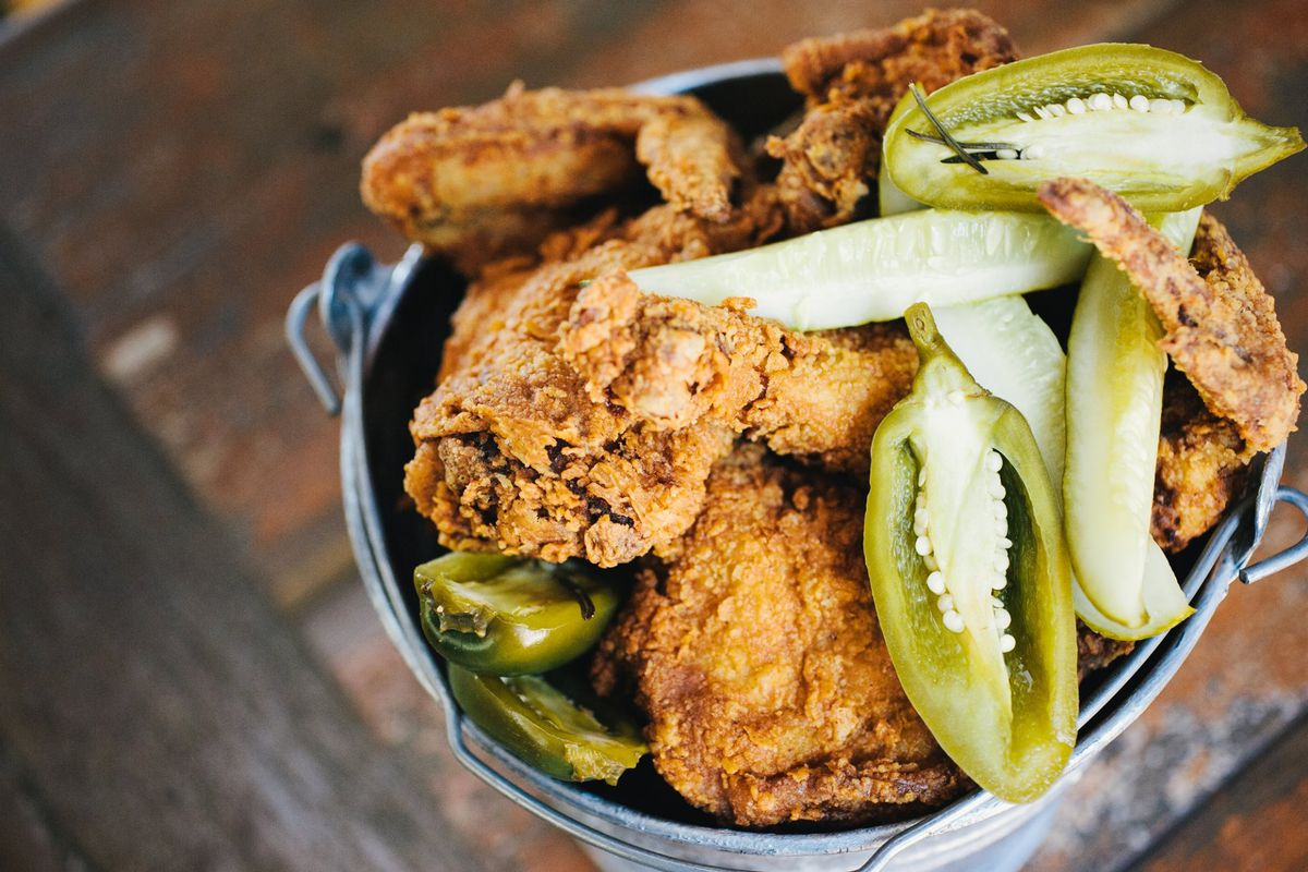 Fried chicken from Lucy's
