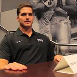 Joeckel could not unseat incumbent starter Trevon Boykin at TCU in his final season of eligibility. He'd go on to attend law school at Texas Tech and is now an associate at a law firm in Dallas (thanks, LinkedIn).