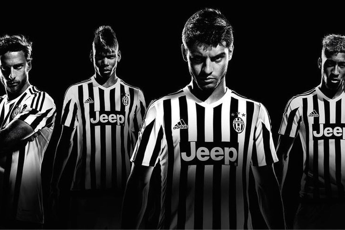 ce7a9c47293 Juventus  new 2015-16 adidas jerseys have officially arrived - Black ...