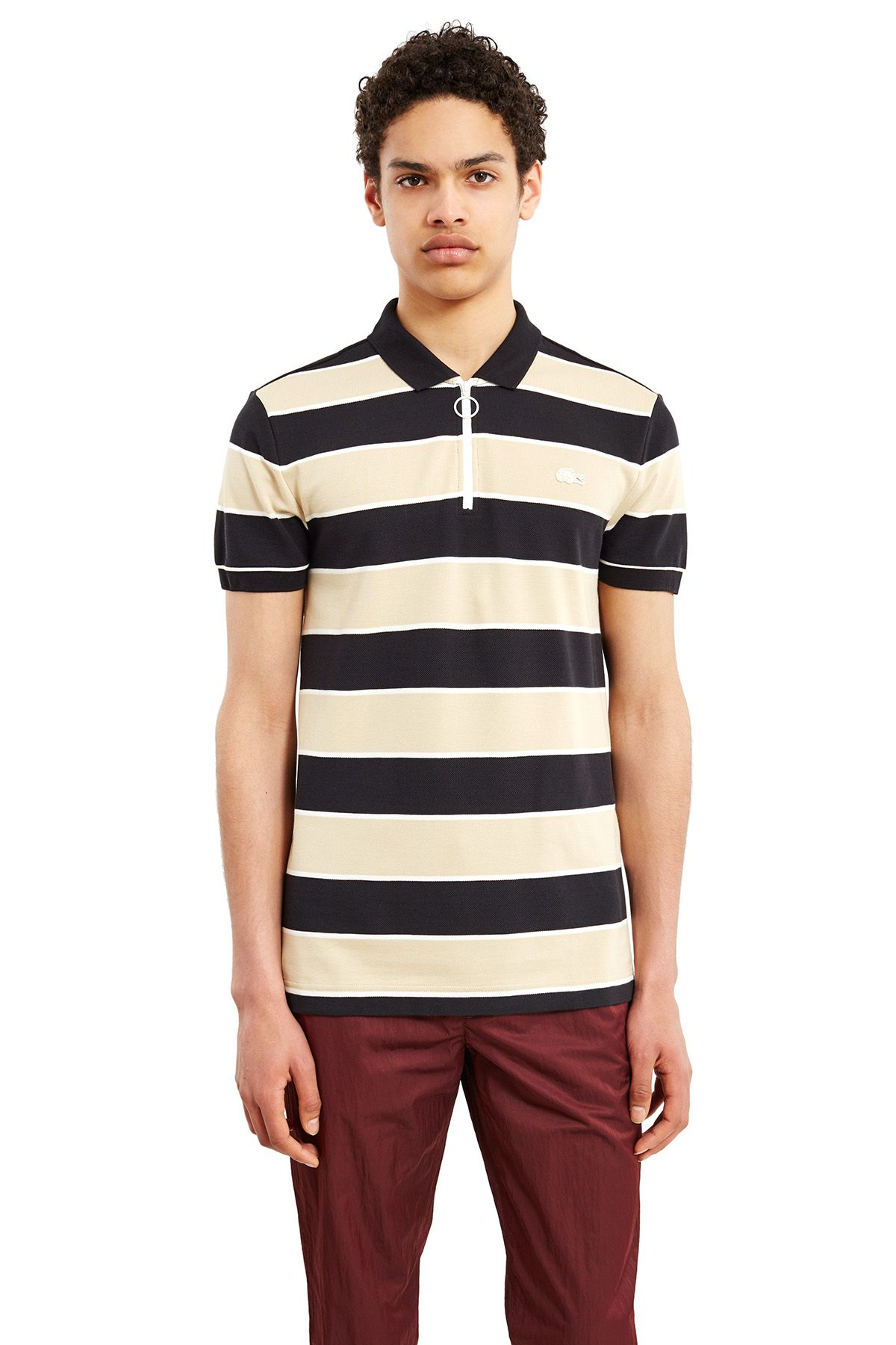 Lacoste x Opening Ceremony striped polo