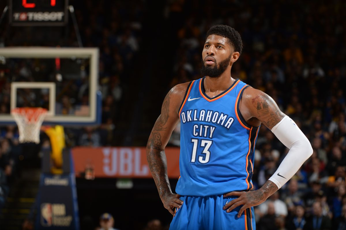 Paul George happy with Thunder, not sure about going to Lakers