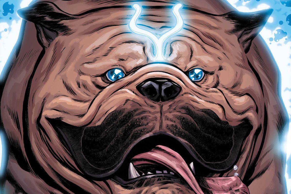 Announcement cover of Lockjaw #1 (2018), Marvel Comics