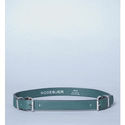 """<b>Rodebjer</b> Leather Belt in green, <a href=""""http://shopbird.com/product.php?productid=25594&cat=0&manufacturerid=&page=1#"""">$90</a> at Bird"""