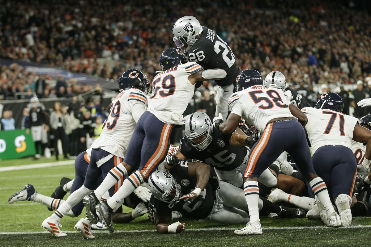 The Bears will likely get an extra road game against the Raiders this year under the NFL's new 17-game season.