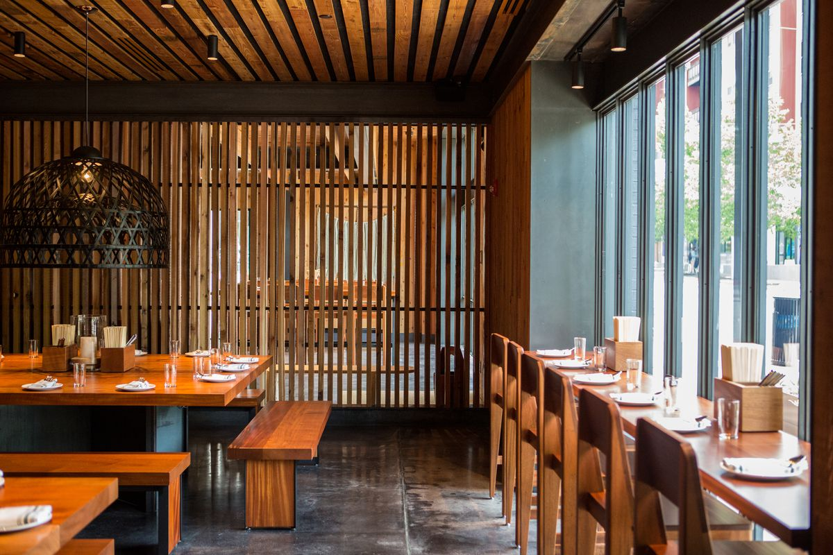 Sway's dining room and window seating