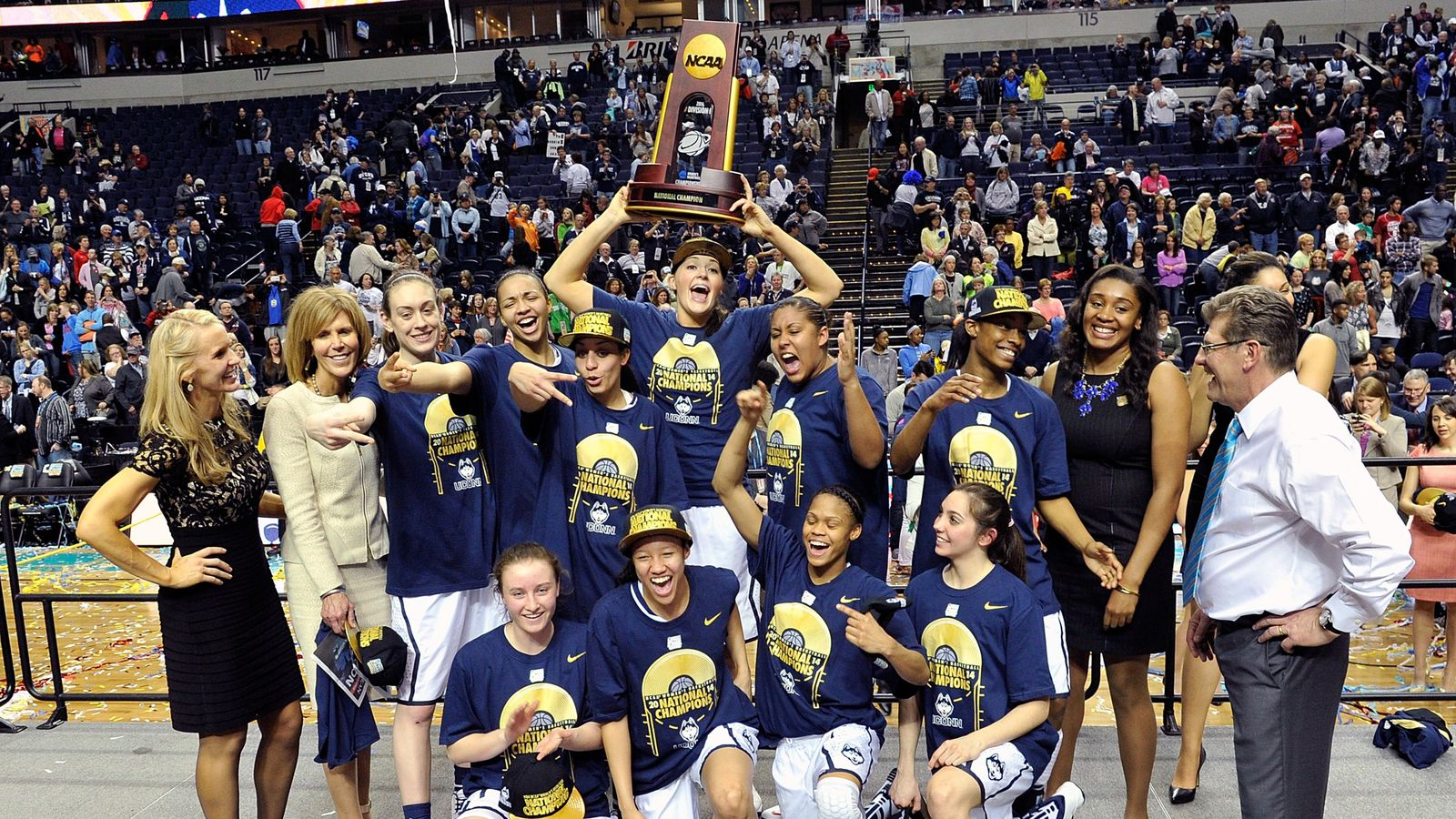 2014 NCAA Final Four: UConn wins the 2014 NCAA Division I Women's Basketball Championship ...