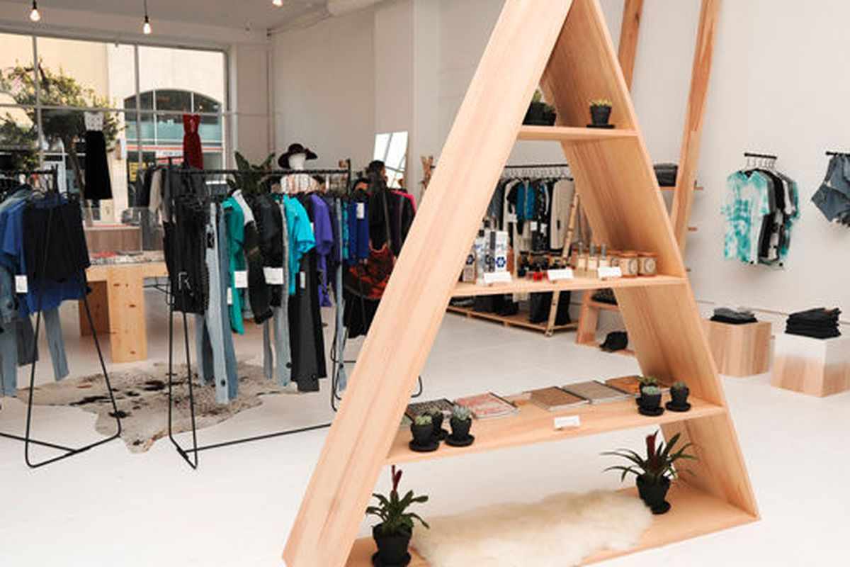 """Reformation on Melrose. Photo via <a href=""""http://www.refinery29.com/la-boutiques"""">Refinery29</a>."""