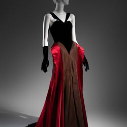 A 1946 evening dress.
