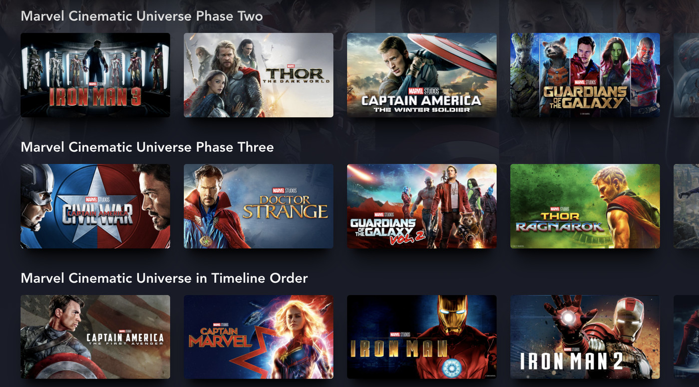 Disney Plus Finally Understands How Fans Want To Watch Marvel Movies The Verge