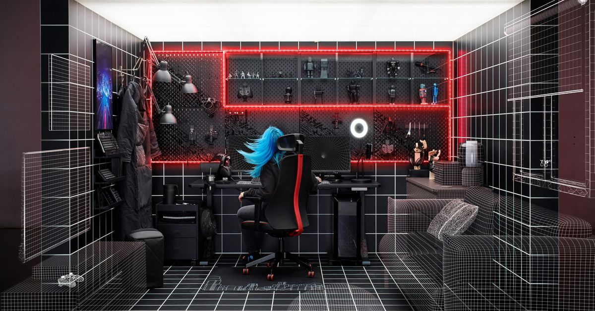 Ikea's gaming range launches globally next month