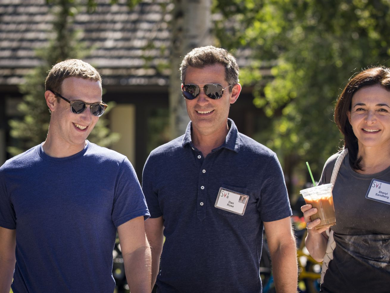 Facebook's board is throwing public support behind Mark Zuckerberg and Sheryl Sandberg — who are on Facebook's board