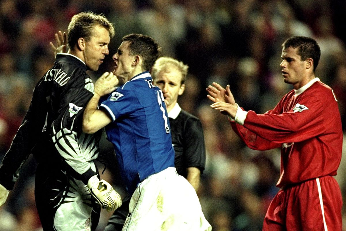 Sander Westerveld and Francis Jeffers