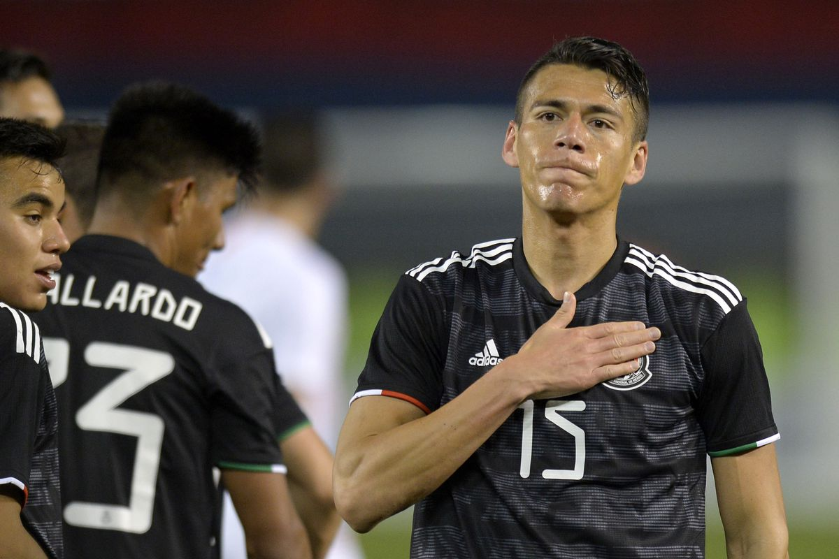 Soccer: Chile at Mexico