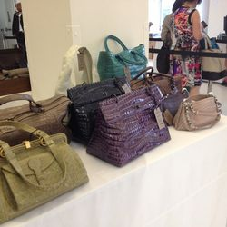 Crocodile purses, $850—$3,200