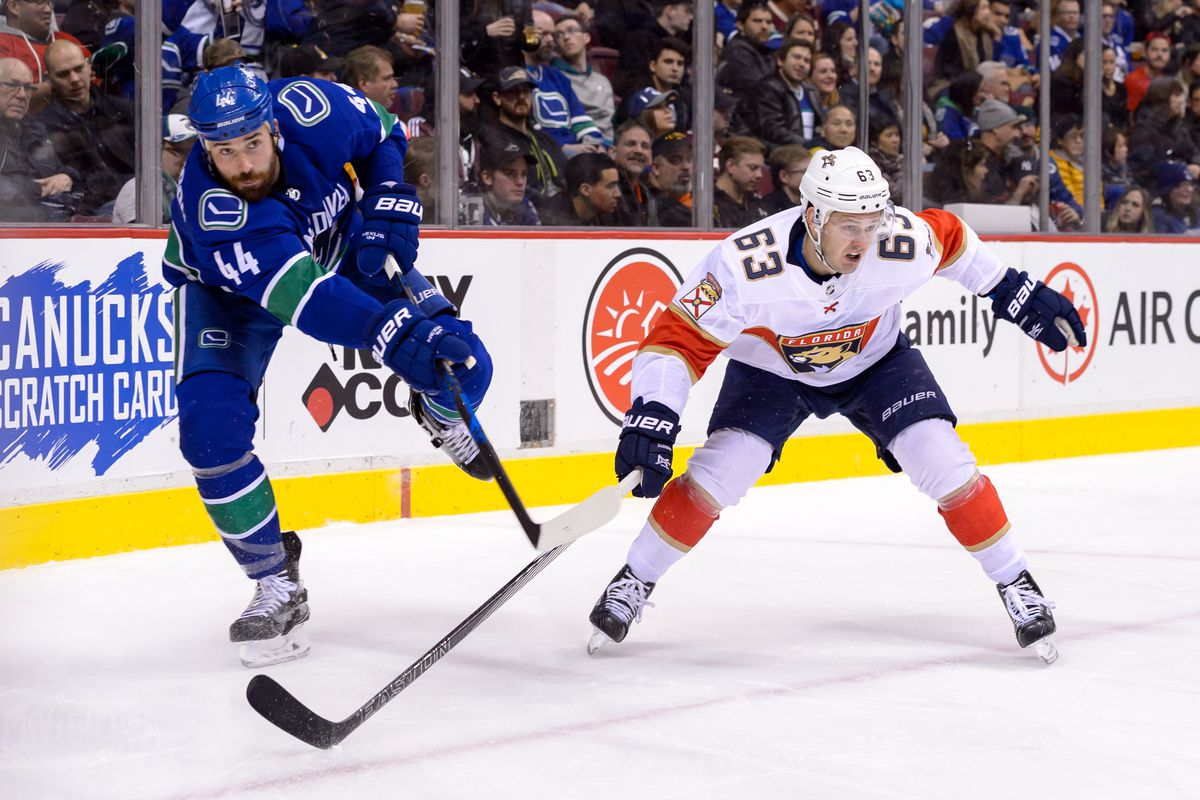 NHL: FEB 14 Panthers at Canucks