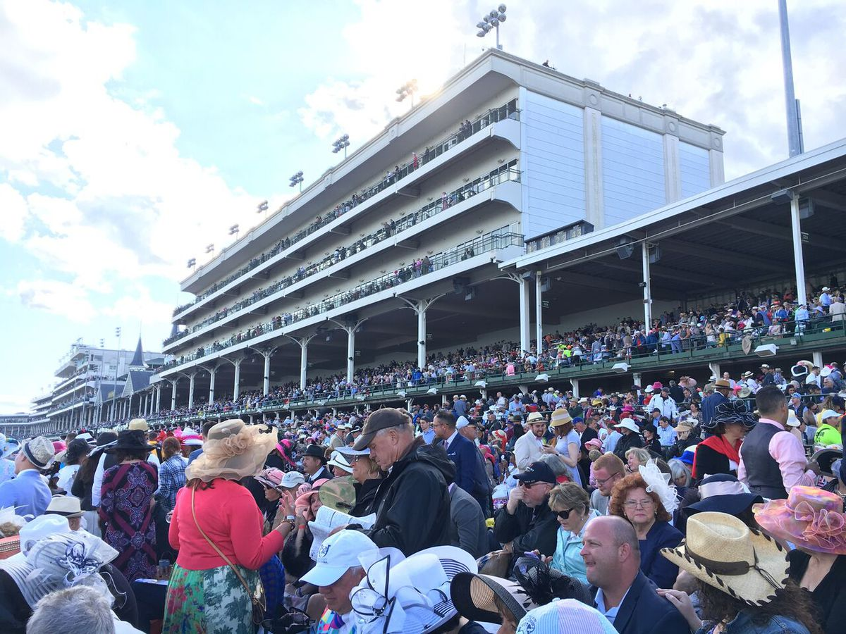 The bloodlines of America run through the Kentucky Derby