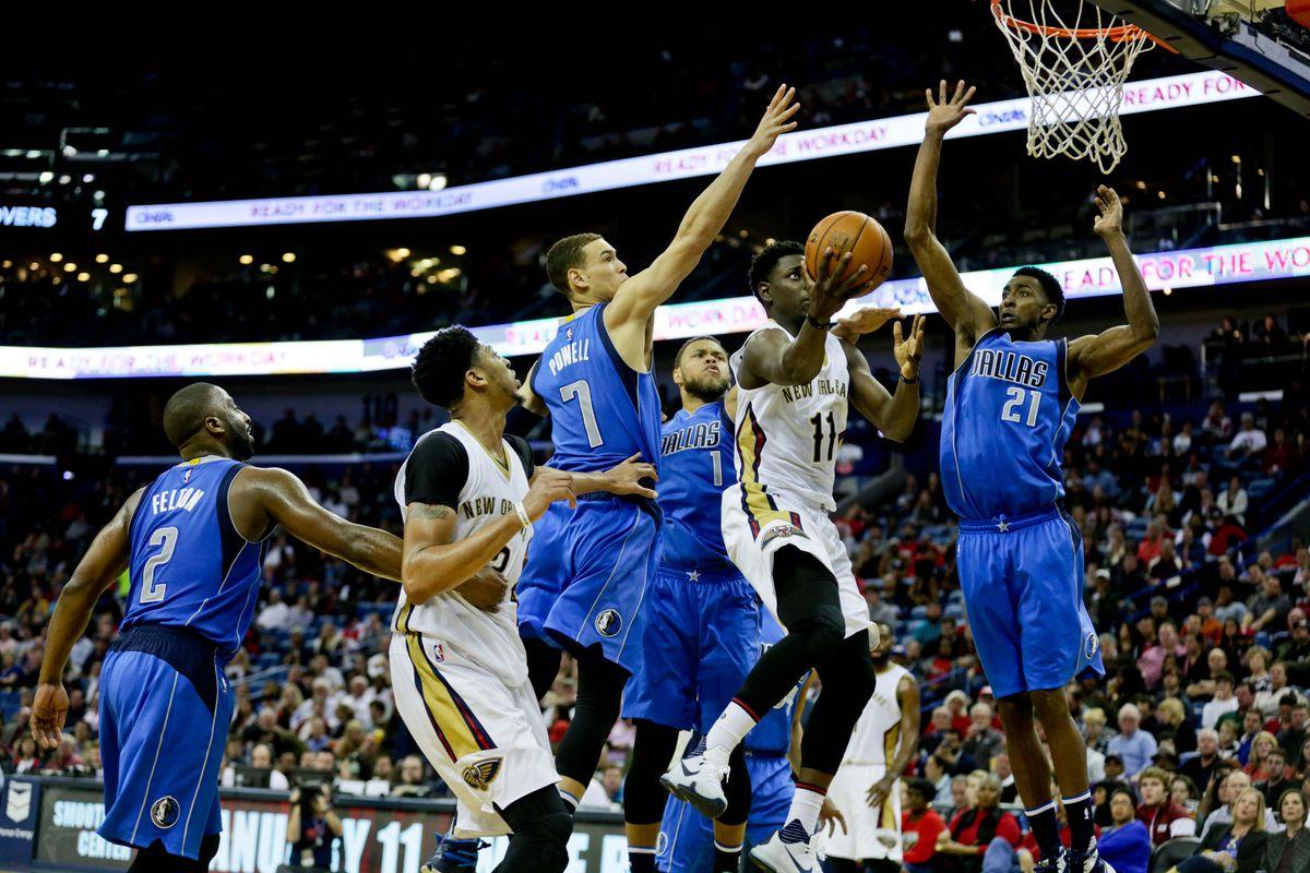 NBA: Dallas Mavericks at New Orleans Pelicans