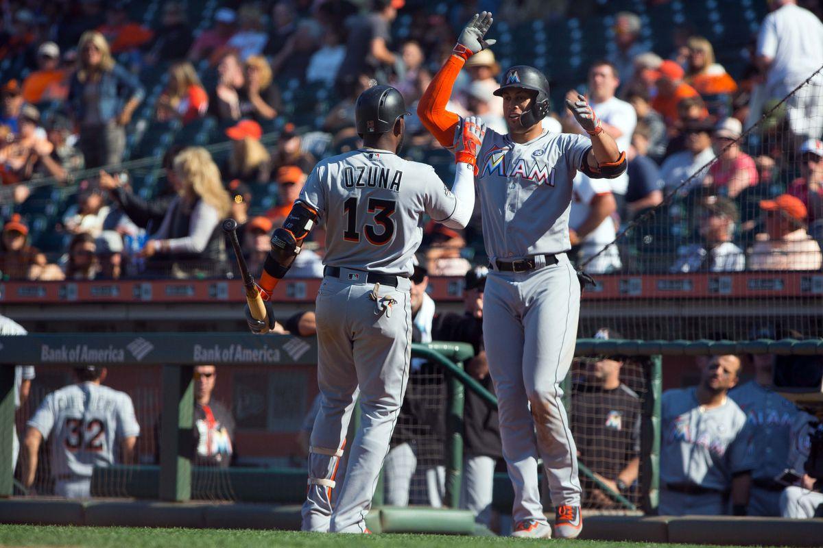MLB: Miami Marlins at San Francisco Giants