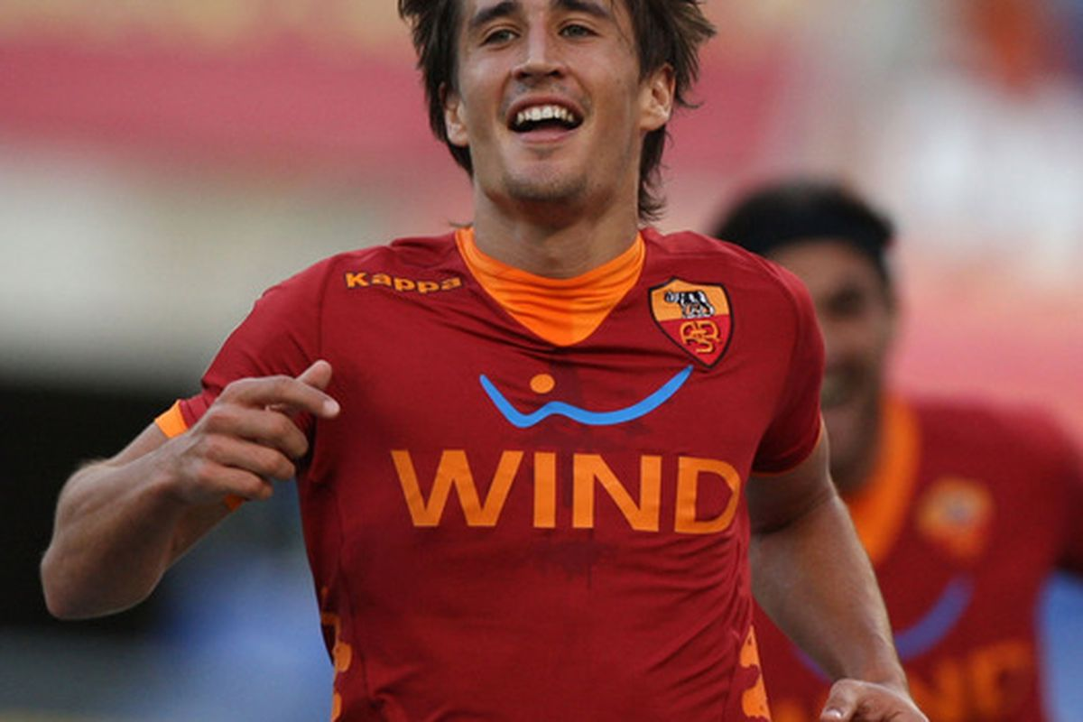 Look at how happy Bojan is now that he found he is related to Messi.