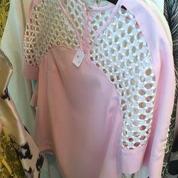 Pink top, $95