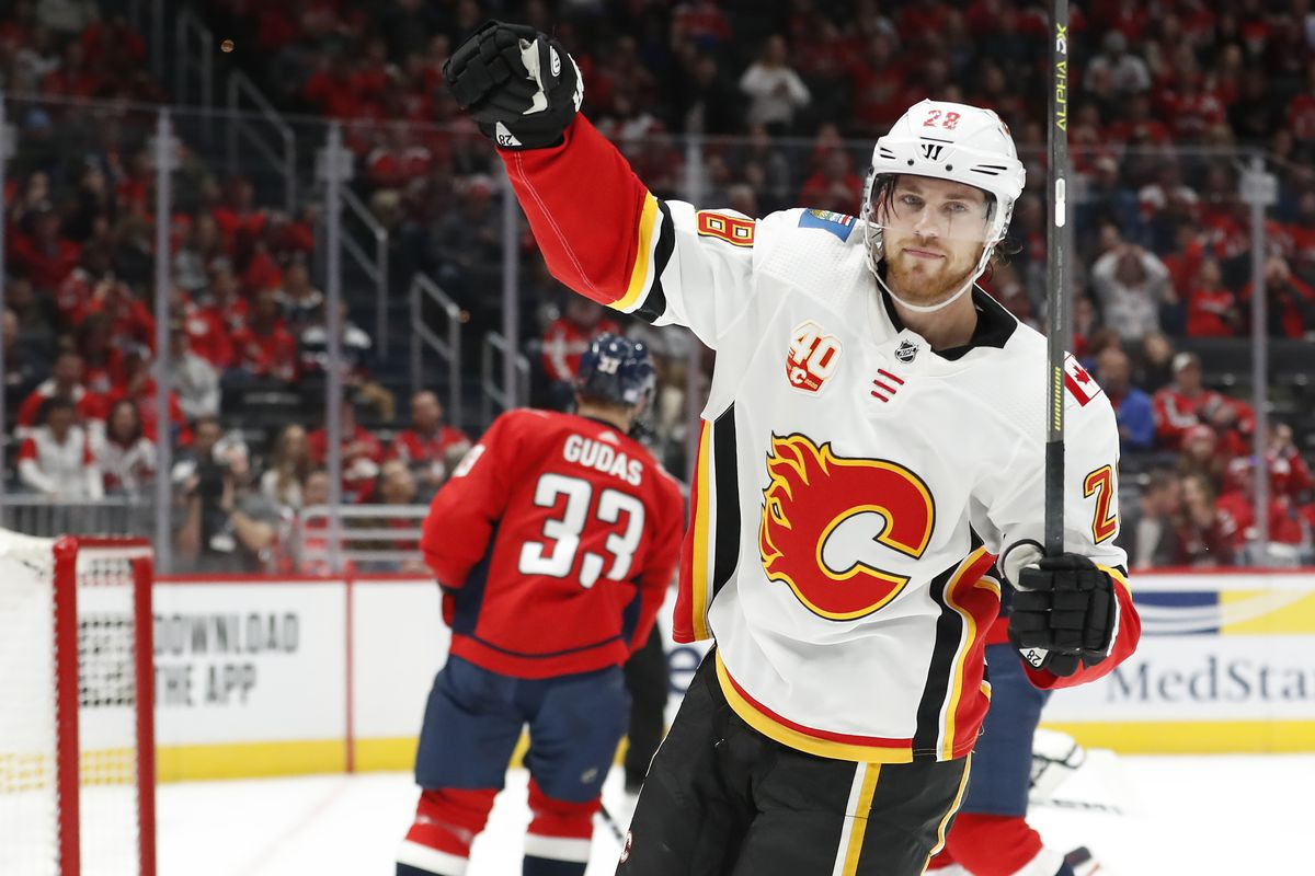 NHL: Calgary Flames at Washington Capitals