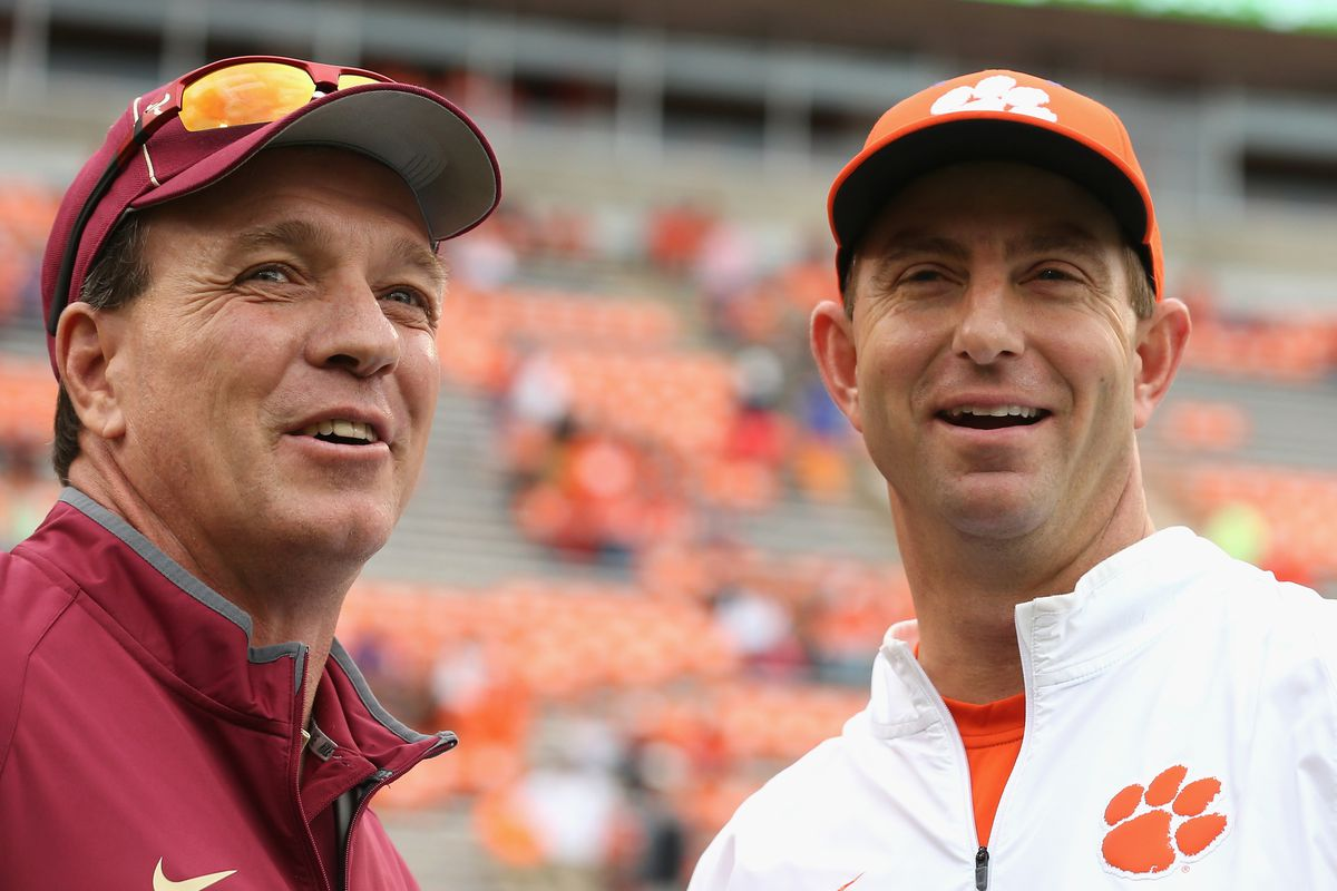 Dabo Now The Second-Highest Paid Coach Behind Saban