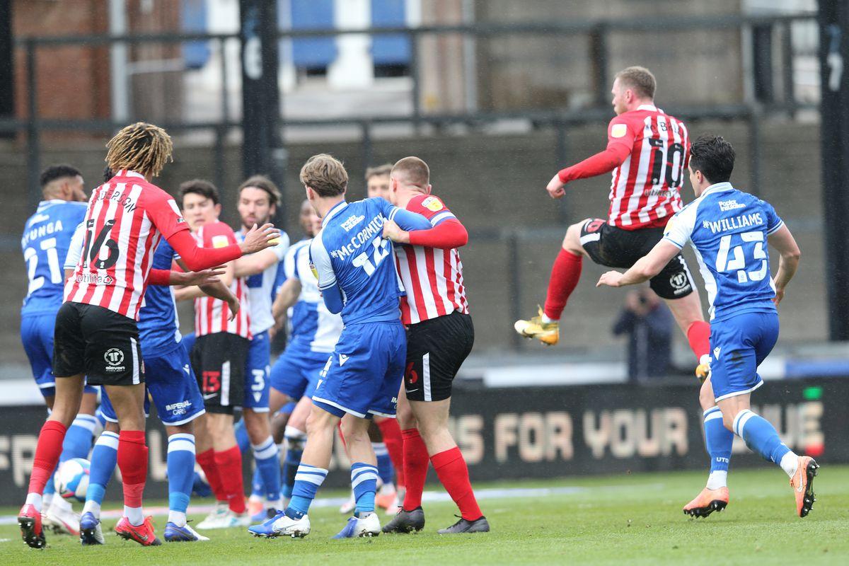 Bristol Rovers v Sunderland - Sky Bet League One