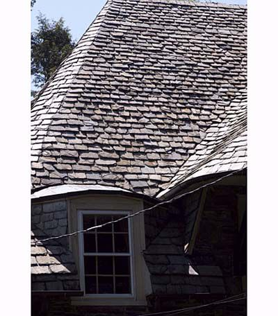 Curved Roof On A House