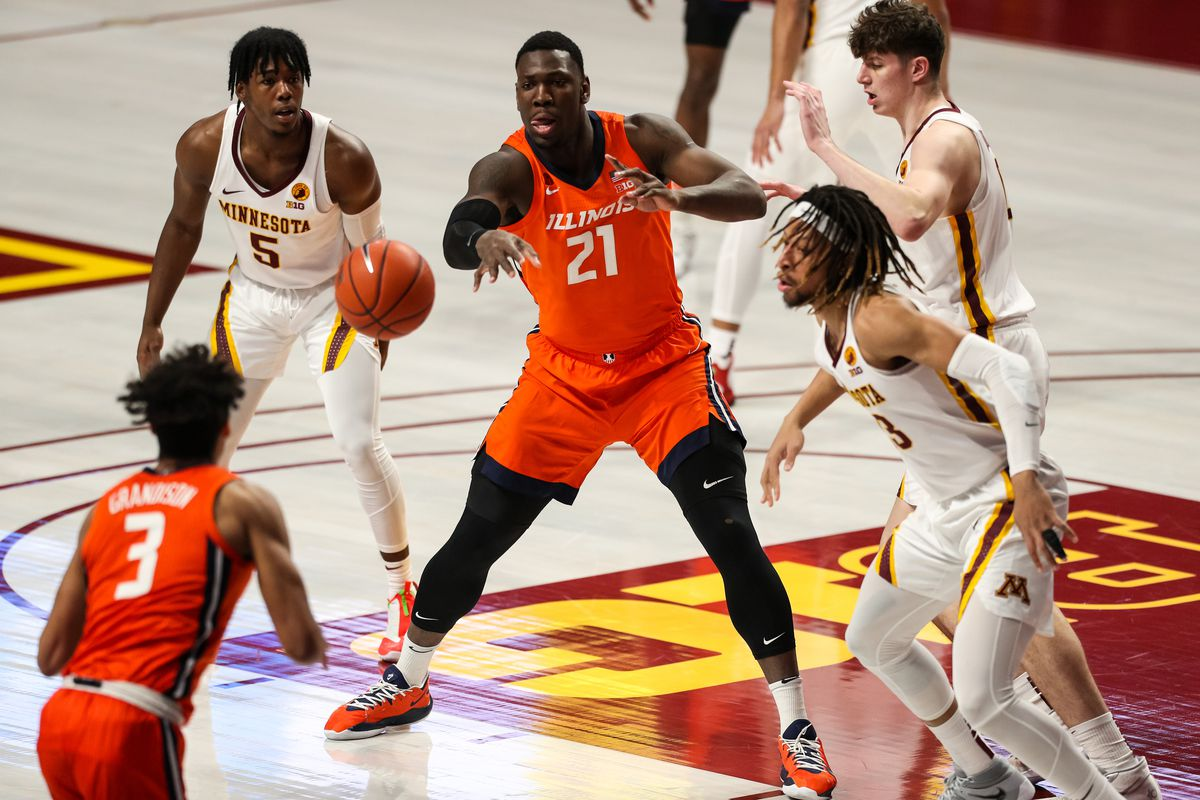 NCAA Basketball: Illinois at Minnesota