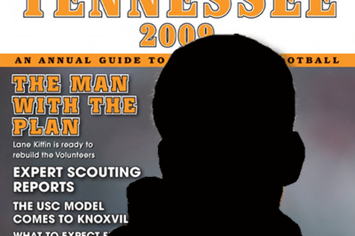 Yes, that's last year's cover. Yes, I blacked out the image of last year's coach. Yes, I still have some growing up to do. And yes, I'm comfortable with that.