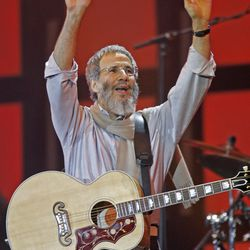 """Musician Yusuf Islam, formerly known as Cat Stevens, wrote one of music's best-known songs about dads, """"Father and Son."""""""