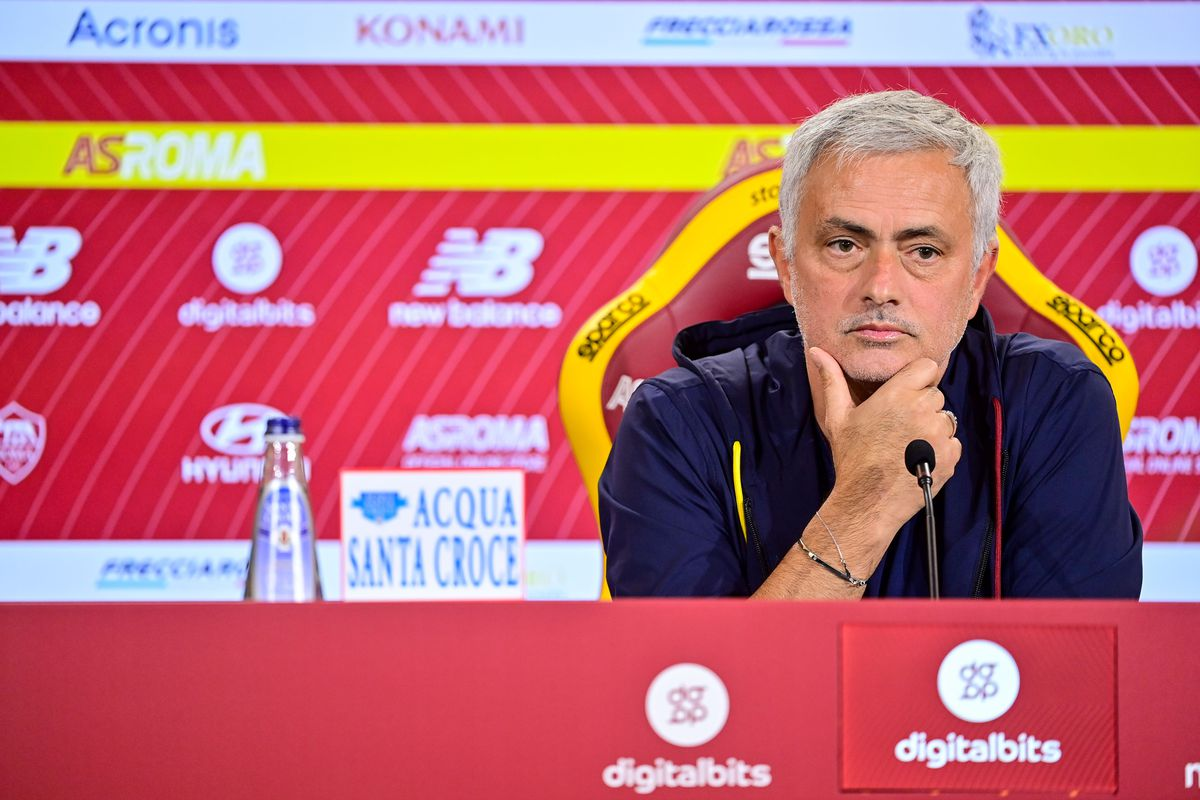 AS Roma Training Session & Press Conference