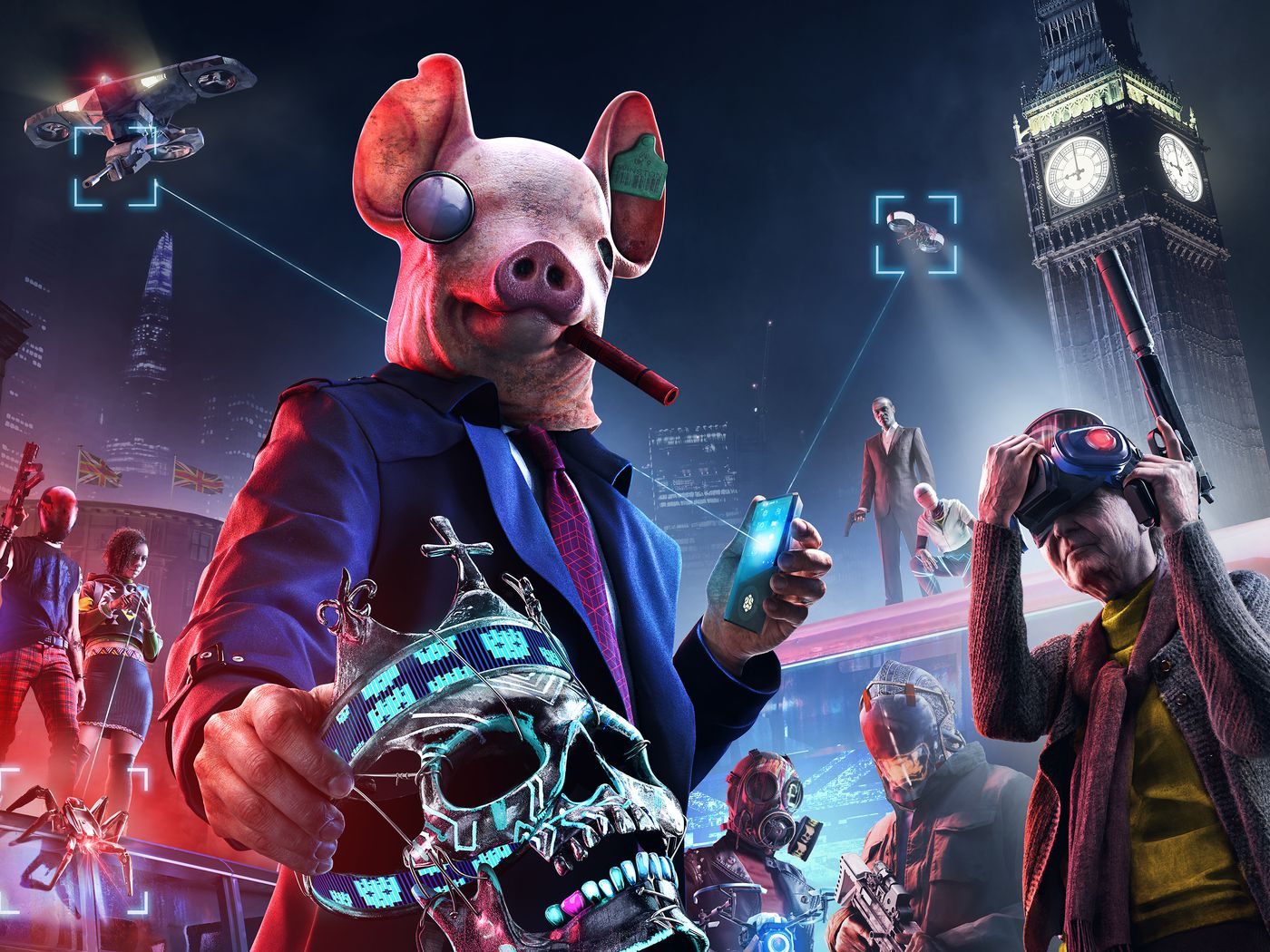Watch Dogs Legion Preview Three Hours With Jane Bond And A Construction Worker Polygon