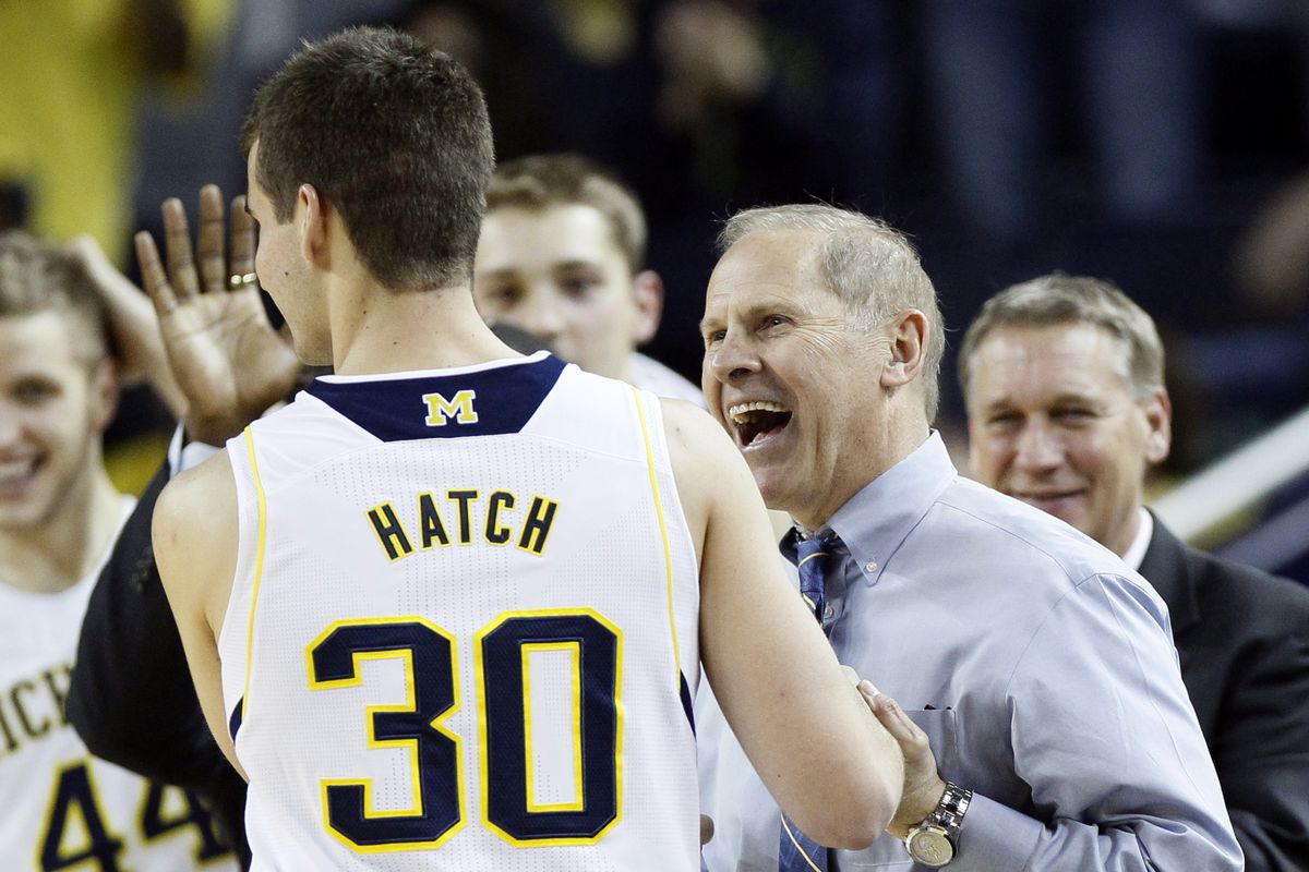 Hatch dresses on Michigan's senior day as honorary captain