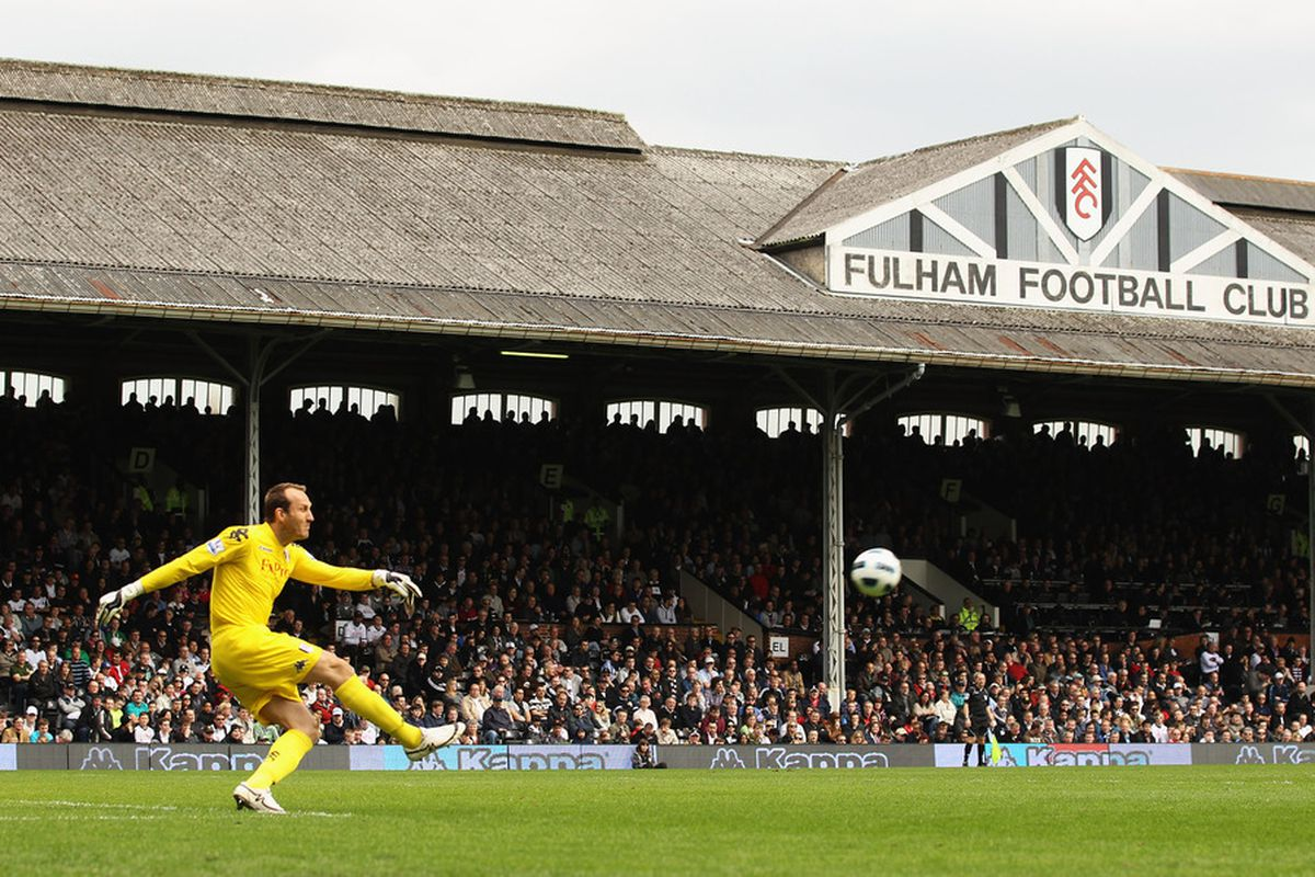 Fulham FC travel north to Old Trafford on Saturday to clash with Manchester United in a Premier league tie (Photo by Ian Walton/Getty Images)