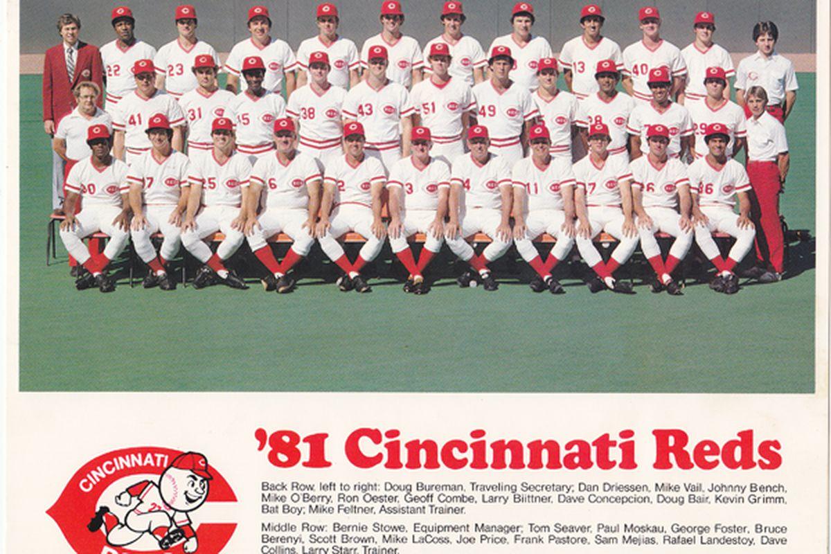 1981 Cincinnati Reds