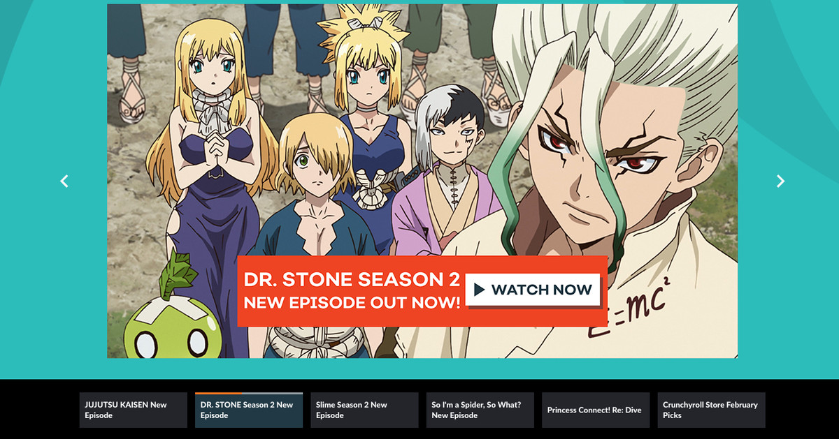 Crunchyroll is rolling out an entirely new design for Premium subscribers - The Verge