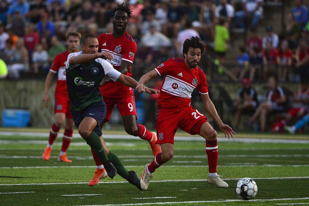 MLS: U.S. Open Cup-Chicago Fire at Saint Louis FC