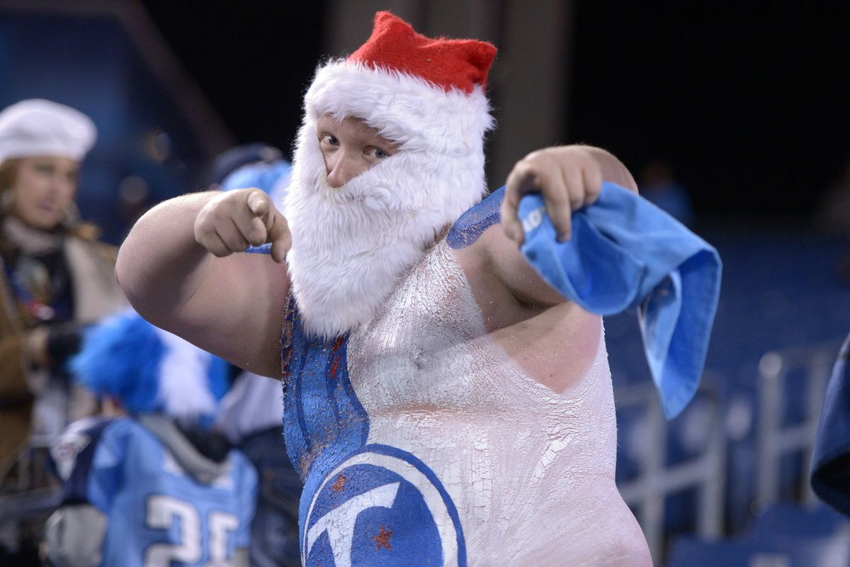 This guy has Christmas spirit in abundance!!!